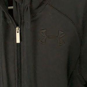 Under Armour lined sweatshirt, black, medium